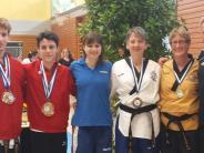 Taekwondo: Zehn Medaillen für acht Kampfkünstler