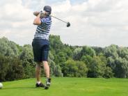 Golf: Den Siegerbällen hinterhergeschaut
