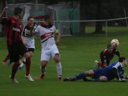 Fußball-Landesliga: Nach Unwetter gehen zwei Punkte unter