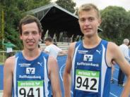 Leichtathletik: Mit Bestzeiten auf die Plätze drei und sieben