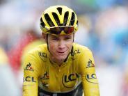 Radsport: Froome vor drittem Toursieg - Izaguirre gewinnt Etappe