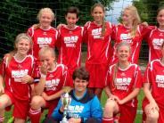 Mädchen-Fußball: Drei erste Plätze an drei Tagen
