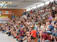 Günzburg: Handball Junioren Länderspiel Deutschland-Slowakei