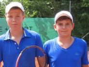 Tennis-Titelkämpfe: Aichacher entführen mehrere Titel aus Schrobenhausen