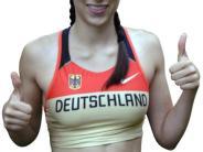 Leichtathletik: Anne Rieger hat noch nichts verlernt