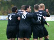 Fußball, Bezirksliga: Endlich den ersten Saisonsieg bejubeln