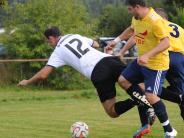 B-Klasse Augsburg Nordwest: Fußball SG Wörleschwang gegen SV Bonstetten