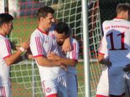 Fußball-Bezirksliga: Hollenbach hat das Jubeln nicht verlernt