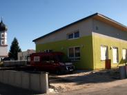 Bau: Der Kindergarten nimmt Gestalt an