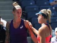 Tennis: Kerber bei US Open weiter - Gegnerin gibt bei 0:6, 0:1 auf