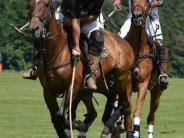 : Auf dem Pferd dem Ball hinterher