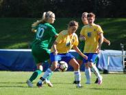 Frauenfußball: Acht schwarze Minuten kosten Türkheim die Punkte