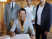 Rio 2016: Gribl würdigt Augsburger Olympia- und Paralympics-Sportler