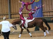 Voltigieren: Turnkunst auf dem Pferd