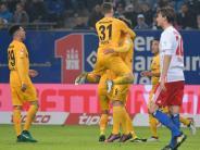 Bundesliga: HSV bleibt nach 0:3 gegen Frankfurt auf Abstiegsplatz