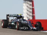 Hamilton Dritter: Rosberg kontert: Tagesbestzeit beim Warmfahren in Austin