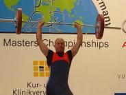 Gewichtheben: Hasberger Graf hat sich etwas verhoben