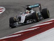 Rosberg erreicht Minimalziel: Hamilton feiert in USA seinen 50. Grand-Prix-Sieg