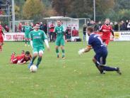 Fußball-Bezirksliga: Wieder lediglich ein Pünktchen