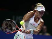 WTA Finals 2016: Kerber willtrainieren und entspannen vor Halep-Match