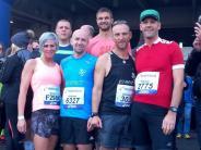 Frankfurt-Marathon: Zieleinlauf auf dem roten Teppich