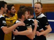 Volleyball, Landesliga: Auch ohne Heim überzeugend