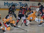Eishockey, Landesliga: Der Einsatz passt, das Schussglück nicht