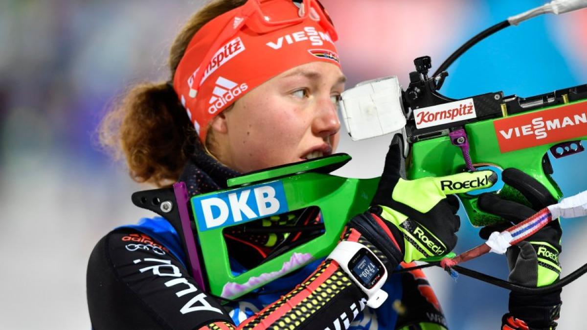 frauen biathlon heute