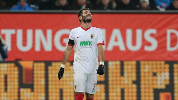 FC Augsburg: Der Punkt gegen Frankfurt ist Halil Altintop zu wenig