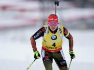 Biathlon heute: Dahlmeier sichert sich den nächsten Sieg