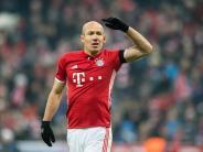 FC Bayern München: Robben vor Topspiel gegen Leipzig wieder im Bayern-Training