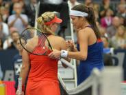 Tennis-Abschied: Kerber bedauert Rücktritt von Freundin Ivanovic
