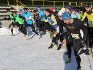 Bildergalerie: Dreikönigslauf: Läufer trotzen in Aichach der Kälte