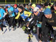 Laufsport: Im Laufschritt über Schnee und Eis
