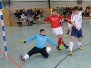 Hallenfußball, Landkreismeisterschaft...: Es gab trotzdem eine Überraschung