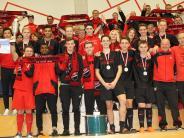 Futsal: Fans feiern Dasinger A-Junioren, die Geschichte schreiben