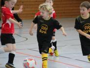 Jugendfußball: Mit Feuereifer bei der Sache