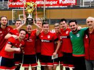 Hallenfußball: Blaustein will nun auch daheim gewinnen