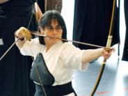 : Ingrid Haußner 63 Jahre, Kyudo