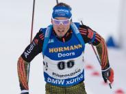 Biathlon heute: Deutsche verschenken Podium beim letzten Schießen