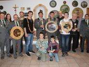 St. Sebastian Maihingen: Königskette für Edwin Vietz