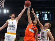 Basketball Eurocup: Niederlage gegen Moskau
