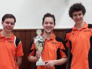 Tischtennis: Meringer gewinnen beim Kreis-Pokal