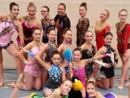 Rhythmische Gymnastik: Sie erfüllen die Erwartungen