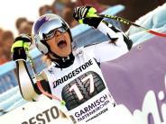 Rebensburg gute Dritte: Comeback-Star Vonn triumphiert in Garmisch