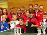Tischtennis: Kalaschnikow und Baur siegen