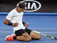 Sieg gegen Raonic: Nadal erreicht Halbfinale der Australian Open