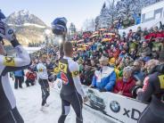 Bobfahren: Matthias Kagerhuber ist endlich ganz oben