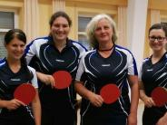 Tischtennis: Mindelzeller Frauen spielen um den Bezirkspokal