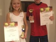 Tennis: Geschwisterpaar beim schwäbischen Finale